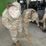 καθρέφτης ελέγχου οχημάτων για το στρατό