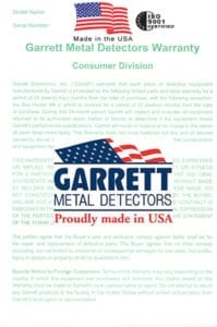 garrett at pro εγγύηση