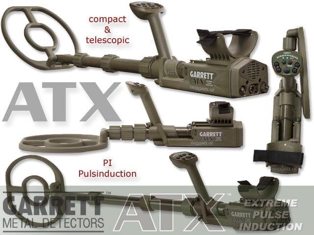 garrett atx παλμικός ανιχνευτής μετάλλων