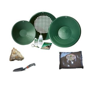 πιάτα για φυσικό χρυσό garrett gold pan kit