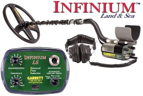 garrett infinium ls unserwater metal detector