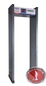μαγνητική πύλη ανίχνευσης μετάλλων- πόρτα ασφαλείας Mcd 100