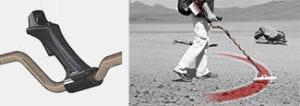 nokta fors relic ανιχνευτής μετάλλων εργονομία