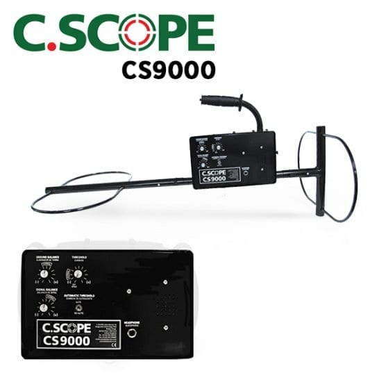 cscope cs9000 ανιχνευτής μετάλλων