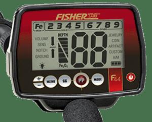 fisher f44 ανιχνευτής μετάλλων
