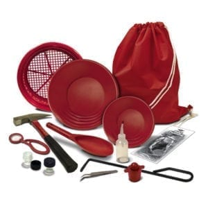 fisher hardrock pro gold prospecting kit πιάτα φυσικού χρυσού