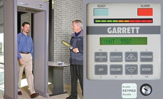 garrett pd6500i πύλη ανίχνευσης μετάλλων