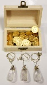 εκκρεμές ραβδοσκοπίας για διαμάντια και χρυσό