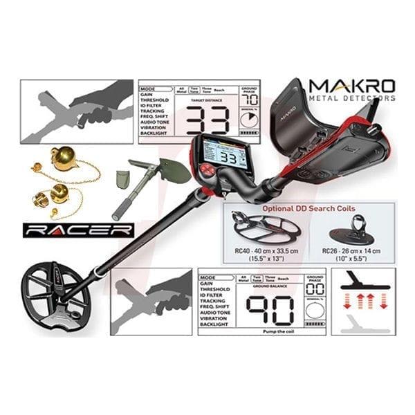 makro racer metal detector