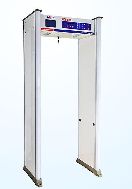 mcd 800a μαγνητική πύλη ανίχνευσης μετάλλων
