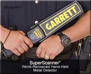 md security garrett super scanner ανιχνευτής μετάλλων ασφαλείας