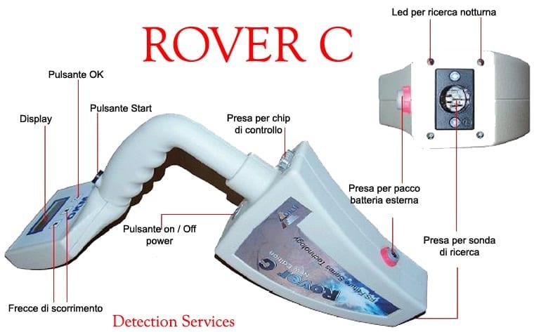 okm rover c new edition ανιχνευτής μετάλλων