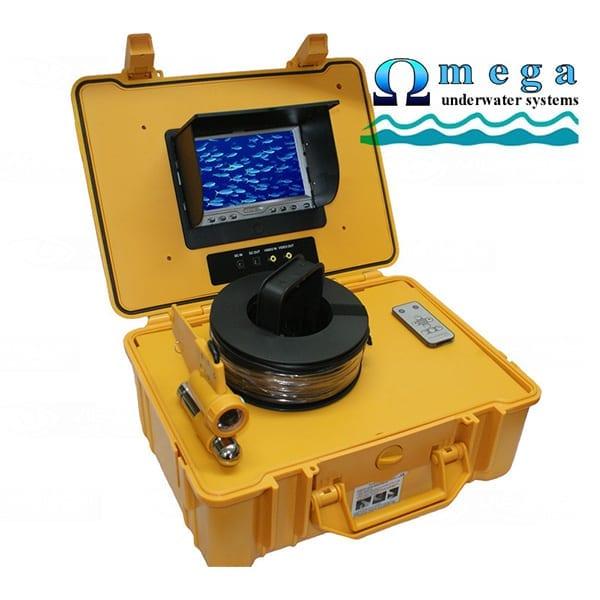 omega yc20 κάμερα βυθού