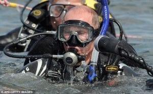 υποβρύχια έρευνα από τον Πούτην