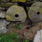 σημάδι με πέτρες