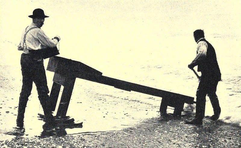 sluice box 125cm υδατοφράχτης