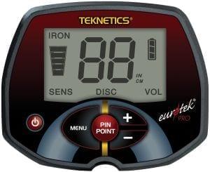 teknetics eurotek pro ανιχνευτής μετάλλων