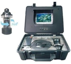 κάμερα βυθού με περιστροφική κάμερα