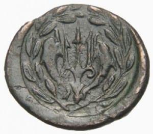 αρχαίο νόμισμα ελίκη