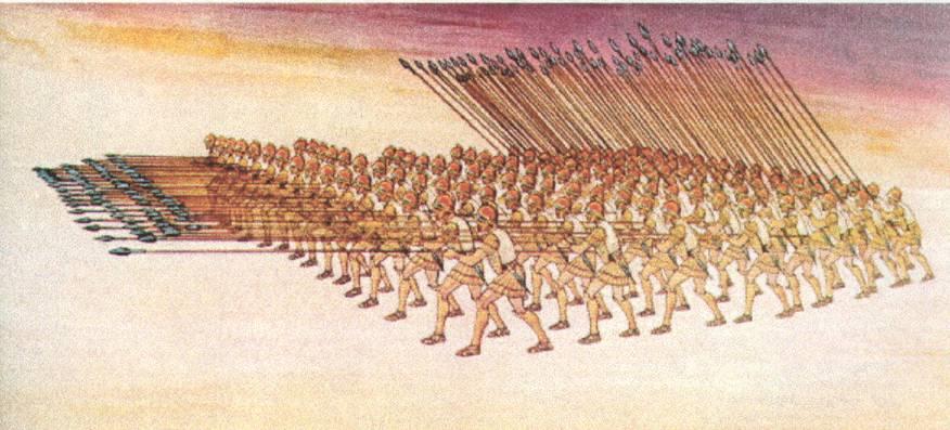 αρχαίοι στρατιώτες