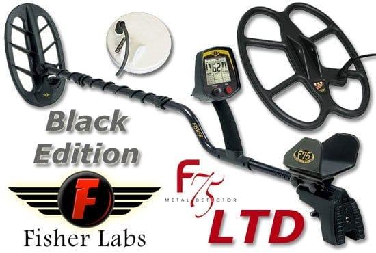 fisher f75 limited black edition ανιχνευτής μετάλλων