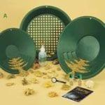 φυσικός χρυσός garrett gold pan kit