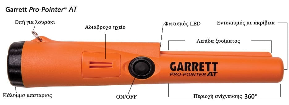 garrett pro pointer at pinpointer