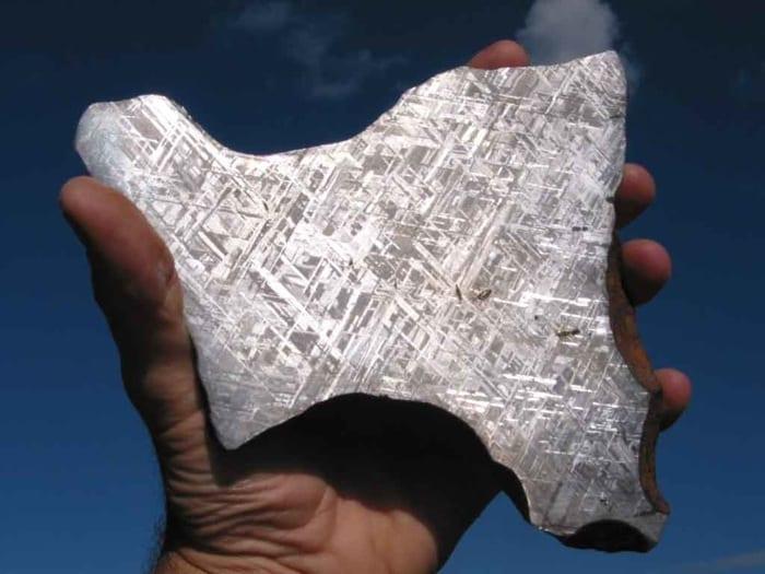 μετεωρίτης γιδεόν