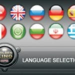 nokta golden king επιλογή γλώσσας