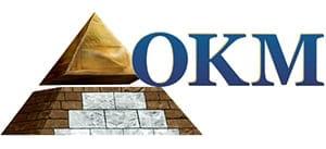 okm ανιχνευτές μετάλλων λογότυπο