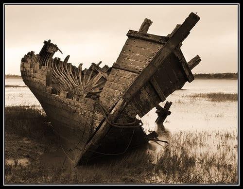 πλοίο ναυάγιο