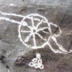 σημάδι κανόνι σε βράχο
