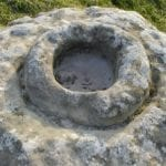 σημάδι σε πέτρα
