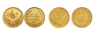 χρυσές τούρκικες λίρες