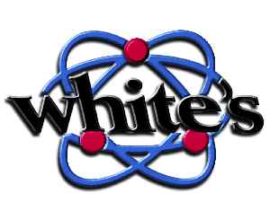 whites ανιχνευτές μετάλλων λογότυπο
