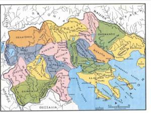 χάρτης της μακεδονίας