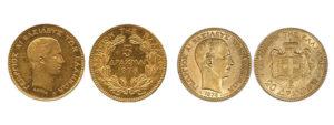χρυσό νόμισμα 5 δραχμών
