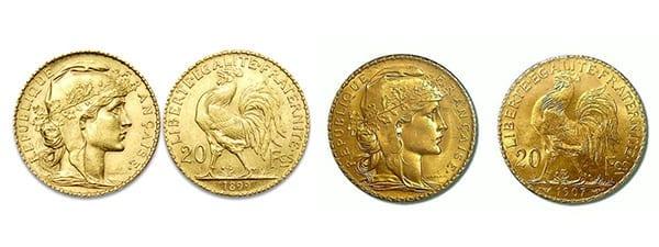 χρυσή λίρα αγγλίας