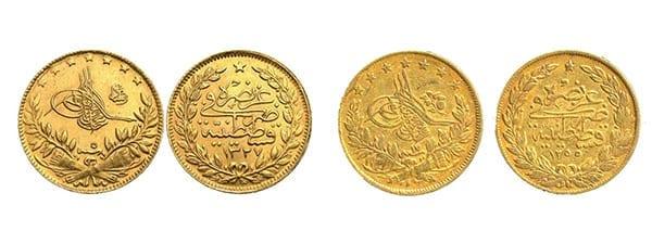 χρυσή λίρα τουρκίας