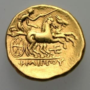 χρυσό νόμισμα φίλιππος β