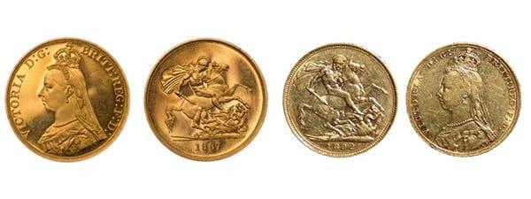 χρυσό πεντόλιρο αγγλίας 1820