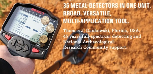 nokta impact metal detector