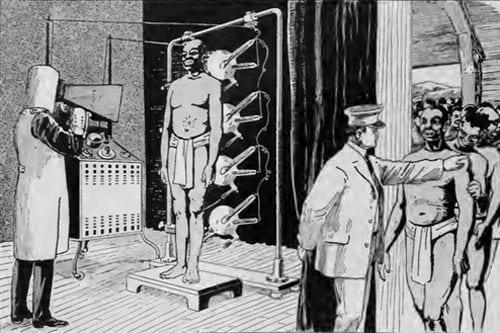 ανιχνευτής μετάλλων x-ray