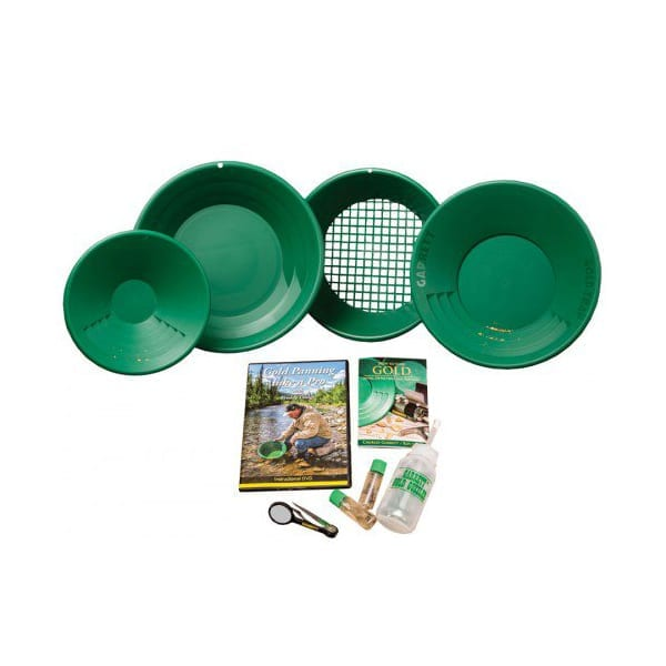 garrett deluxe gold pan kit πιάτα για φυσικό χρυσό