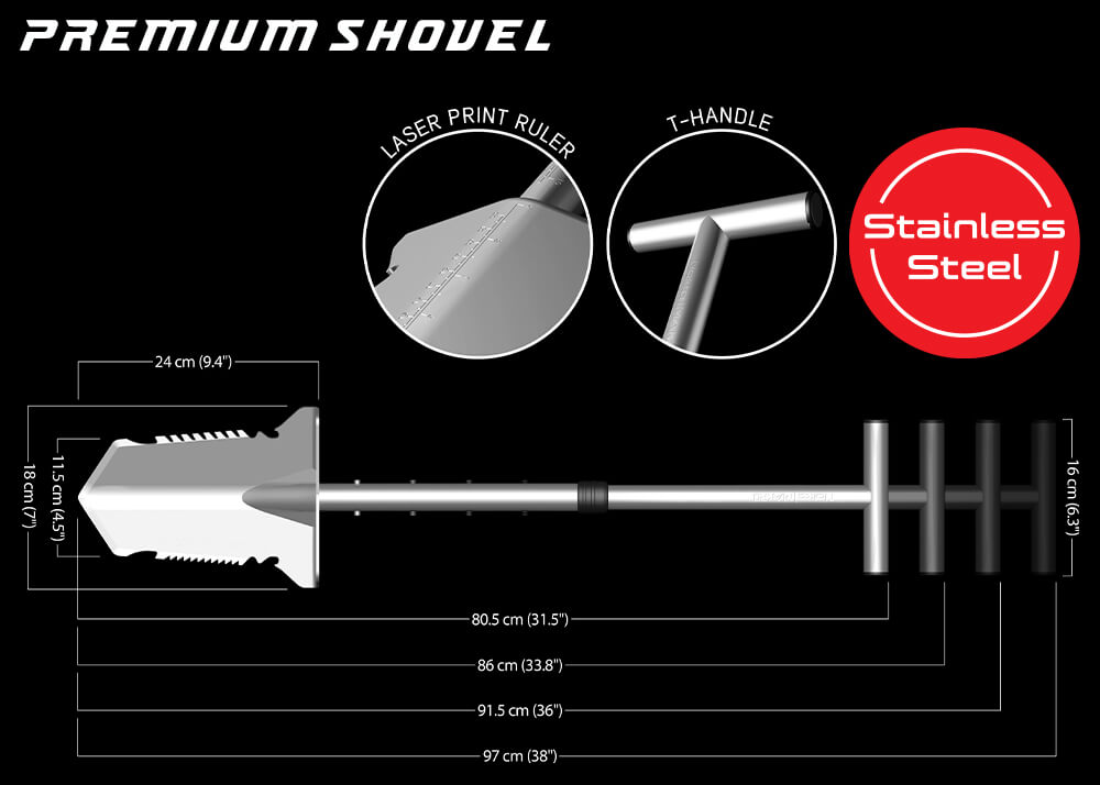 nokta makro premium shovel